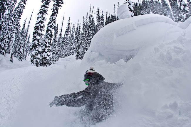 ¡Yo también se hacer snowboard!