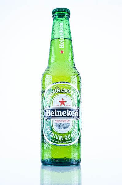 Botella de Heineken