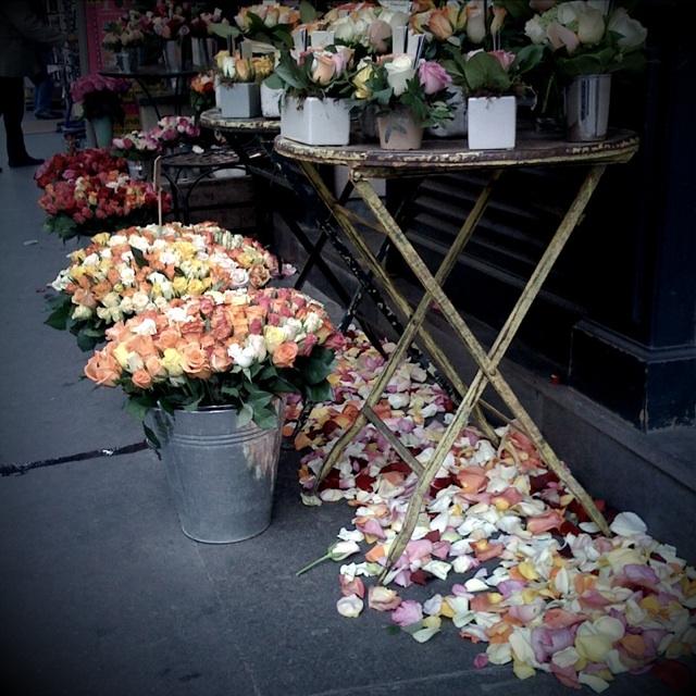 Floristería en Paris