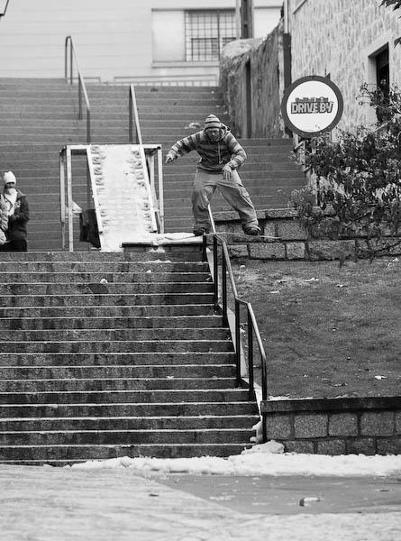 Alex Cantin, boardslide