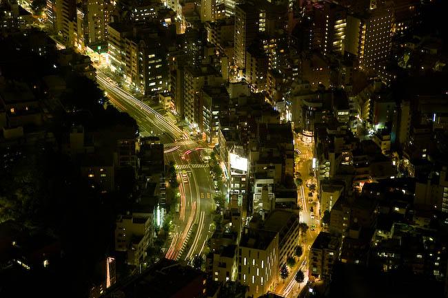 Tokyo por la noche